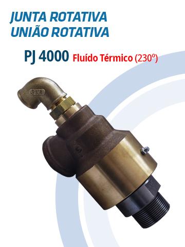 Juntas Rotativas e Uniões Rotativas PJ 4000
